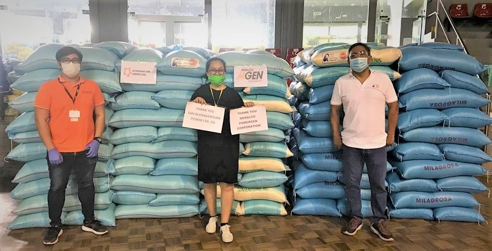 MGen, project companies support the fight against COVID-19; turn over PhP1.5 Million worth of goods to Quezon province